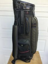 "Mizuno Omega Series Golf Bag 35"" High 8"" Diameter 6.6lbs Nylon Drink Storage"
