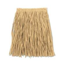 Hawaiian Long Grass Skirt Luau Hula Dancer Beach Party Festival Adjusts To Fit
