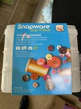 1098832 Snapware Snap'N Stack Portable Organizer