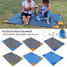 Outdoor Pocket Picnic Blanket Waterproof Beach Mat Camping Travel Portable HA
