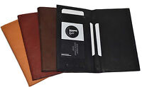 New Hand Crafted Genuine Soft Leather Checkbook Cover Top tear n Side Tear