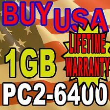 DDR-2 DDR2 1GB PC6400 1 GB PC2-6400 800 MHz DESKTOP MEMORY RAM 240 PIN Module