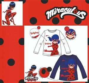 Miraculous Ladybug Sweatshirt langarm T-Shirt Oberteil Kinder Größe 104-128