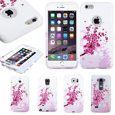 Cherry Blossom Sakura Spring Flowers Hybrid Durable Hard Phone Case Protector