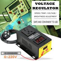 4000W AC 220V SCR Eletronic Voltage Regulator Thyristor Speed Temp Controller
