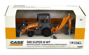 1:50 ERTL *CASE* Construction 580 Super N WT Backhoe Loader *NIB*