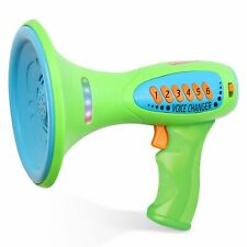 Kidzlane Voice Changer for Kids with Megaphone Function, LED Lights and 5 Differ