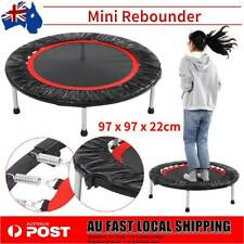"""38"""" Mini Trampoline Fitness Rebounder Exercise Gym Home Indoor Outdoor Sports AU"""