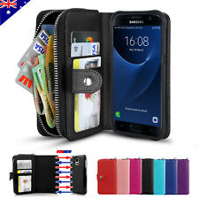Magnetic Wallet Leather Case Cover for Samsung S8 S8+ Plus S7 Edge S6 S4 S5