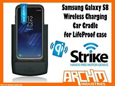 Strike Alpha Samsung Galaxy S8 Car Cradle Wireless Charging for Lifeproof Case