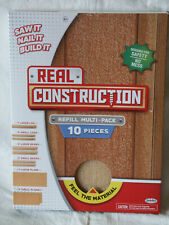 NEW Real Construction Refill Kit Multi-Pack 10 PIECES Various Kid Wood Jakks