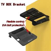 Universal 100-138mm TV Box Stand Top Box Wall Mount Holder Router Bracket Shelf