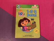 LeapFrog Tag Pen LeapReader Junior Book — DORA THE EXPLORER: 1-2-3 DORA!