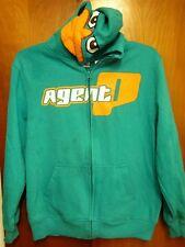PHINEAS FERB beat-up hoodie platypus Disney youth lrg hooded sweatshirt Agent P