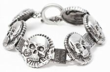 Skull Coin Bracelet
