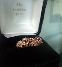 Welsh 14 ct rose gold & 6 Ruby Rose Ring-Stuart Devlin & Franklin Comme neuf-Size O