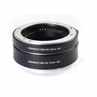 AF Macro Extension Tube DG 10+16mm Set for Sony E Mount NEX A7 A7R A7S II Camera