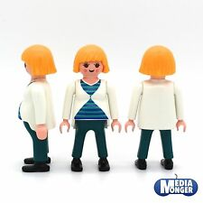 Playmobil Figur : Pregnant Women Woman in Circumstances Baby Belly Mother 5568
