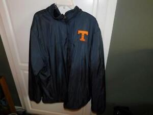 Tennessee Volunteers Reversible Jacket Box Seat Clothing Size 3XL Satin & Fleece