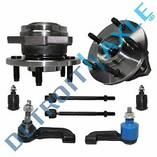 Both (2) Front Wheel Bearings + All (4) Tie Rod ends + Both Lower Ball Joints