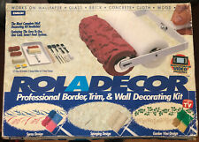 ROLADECOR PROFESSIONAL BORDER TRIM & WALL DECORATING KIT BY EMSON OPEN BOX