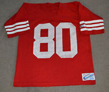 Vtg Jerry Rice San Francisco 49ers NHL Football Jersey Champion XL Retro