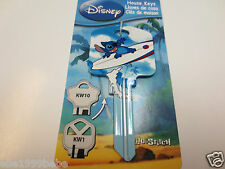 STITCH SUFING Key Kwikset KW1 House Key Blank / Authentic Disney House Keys