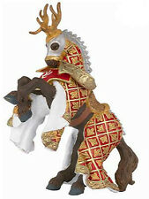 Papo HORSE of Knight Stag Red Fantasy Figure NEW 39912