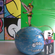 DISNEY TRILLY TINKER BELL LIDDED BOX BY ROMERO BRITTO IN RESINA ENESCO POP ART