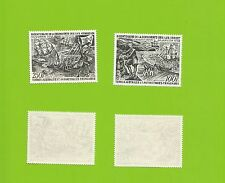 1972 FRENCH SOUTHERN ANTARCTIC TERRITORIES SG 78 & 79 MNH AIRPOST 100F & 250F