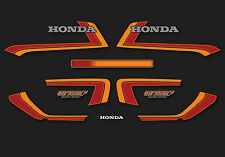 1982 Honda CB750F Super Sport - Black decal set
