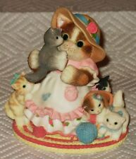 """L@K Calico Kittens """"Yarning For Mom'S Attention"""" Mnb"""