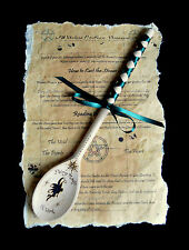 Witches decorated Spoon  Fairy Magic at Work Wicca Pagan Witch Fey