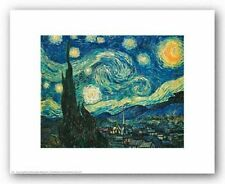 MUSEUM ART PRINT Starry Night Vincent van Gogh 14x11