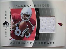2003 SP AUTHENTIC THREADS ,ANQUAN BOLDIN, CARDINALS  !! BOX 9