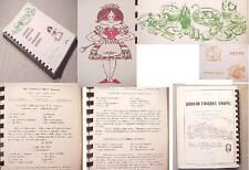 CLEVELAND OH St. Emerics CHURCH COOK BOOK AM.HUNGARIAN RECIPES blessed virgin+