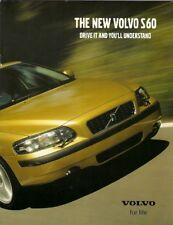 Volvo S60 2000-01 UK Market Launch 16pp Sales Brochure T5 2.4T 2.4 2.0T S SE