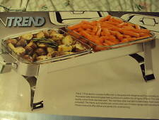 3.8 QT Stainless 2 Section Buffet Dish by Kitchen Trend