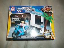 WWE Stack Down 21012 Dolph Ziggler's Zig Zag Cycle 117 pc new sealed