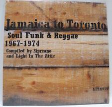 JAMAICA TO TORONTO : SOUL FUNK & REGGAE 1967 - 1974 US ORG 2006 2LP w/ INSERT