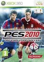 Pro Evolution Soccer (PES) 2010 - XBox 360 - Brand New & Sealed