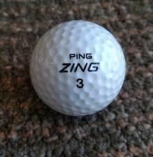Ping Zing 3 script Karsten all white golf ball