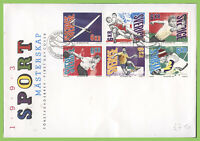 Sweden 1993 Sports Championships on First Day Cover
