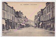 CPA 77140 NEMOURS Rue du château commerces Edt ELD
