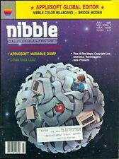 1984 Nibble Magazine (Apple II): Mac Basic Benchmarks/Applesoft Variable Dump