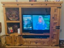 Solid Wood .Entertainment Center
