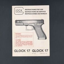 1985 Glock 17 Manual Rare Original 1st Year Factory Oem November Nov 85 Man Nr