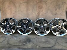 "RARE SET OF 4 BMW ANTERA 123 18"" CHROME WHEELS RIMS SET 123 858 002 123 108 002"