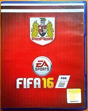 FIFA 16 - Playstation PS4 Games - Very Good Condition - Bristol City