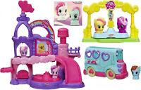 My Little Pony Little People Playskool LOT! Castle Van Friends Go-Round + PONIES